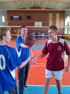 Соревнования по командным видам спорта Баскетбол 19 октября